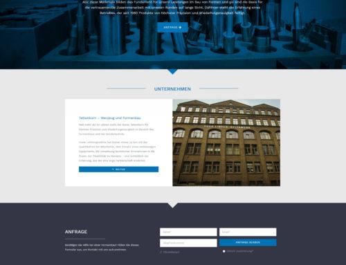 Neue Website von Tettenborn Werkzeug & Formenbau e.K. ist ONLINE!